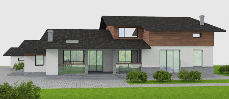 Концепция дизайна фасадов