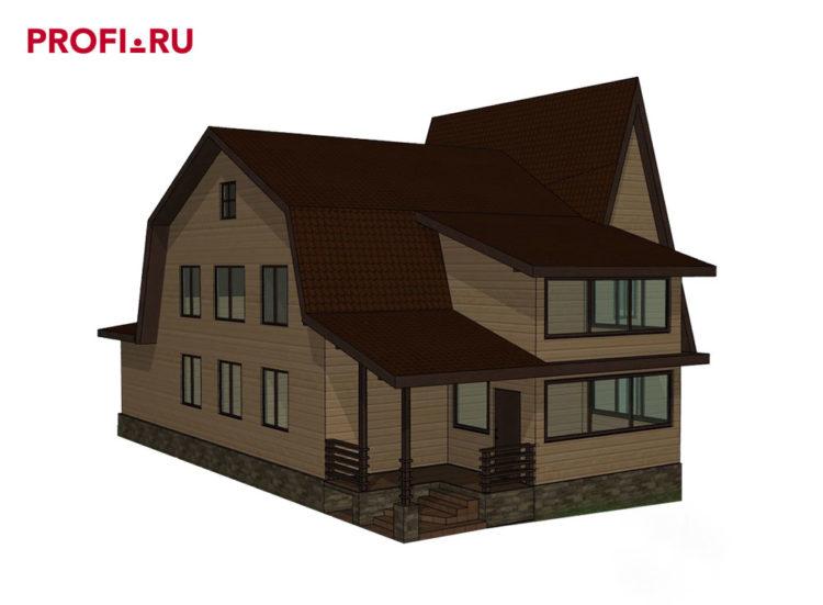 Проект реконструкции старого дачного дома