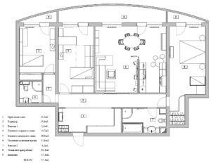 План квартиры на ул. Полоцкая